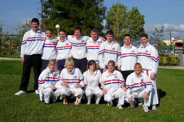 GB Karate Squad at World Cup, Crete 2007