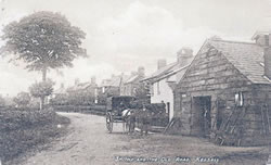 The Smithy, east end of The Old Road. Click image for bigger size.